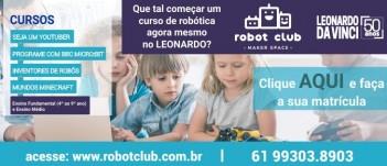 Robot  Club - Faça já sua matrícula