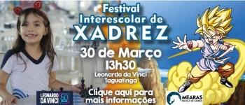 FESTIVAL INTERESCOLAR DE XADREZ - ETAPA PEÃO